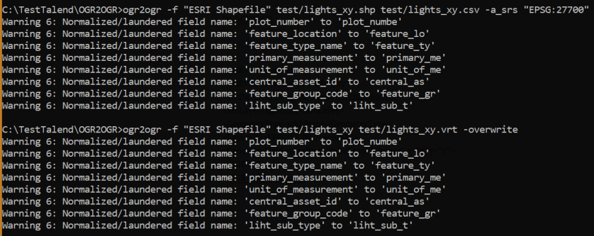 CSV to SHP – Slesser ETL – Open Source, Scaleable, free software ETL
